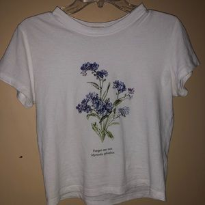brandy melville forget me not tee